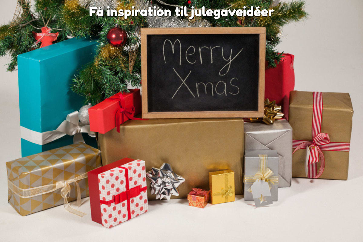 Få inspiration til julegaveidéer