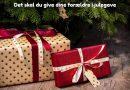 Det skal du give dine forældre i julegave